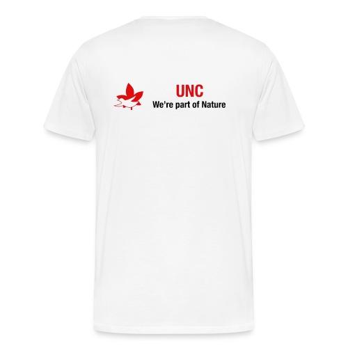 UNC logo - Men's Premium T-Shirt