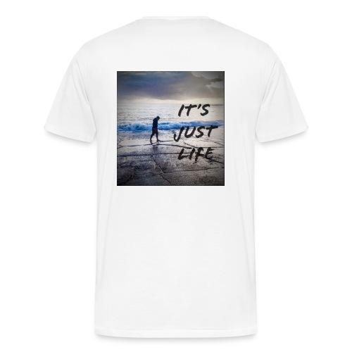 just life - Men's Premium T-Shirt