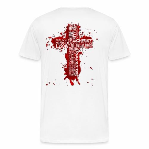 Jesus2thacitycross White - Men's Premium T-Shirt