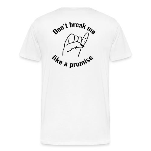 promise - Men's Premium T-Shirt