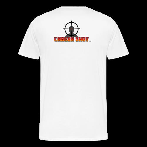 CABEZA SHOT - Men's Premium T-Shirt