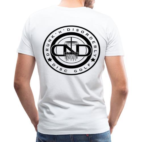 Drunk N Disorderly Disc Golf - Men's Premium T-Shirt