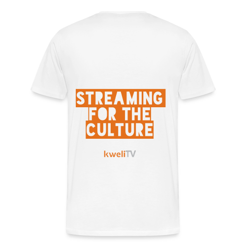 kweliTV - Streaming for the Culture - Men's Premium T-Shirt