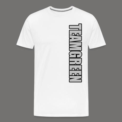 TeamGreen Silver png - Men's Premium T-Shirt