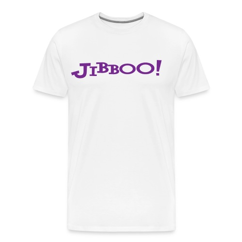 Jibboo! (Double Sided) - Men's Premium T-Shirt