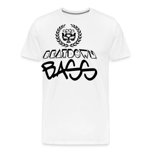 BEATDOWN BLACK LOGO - Men's Premium T-Shirt