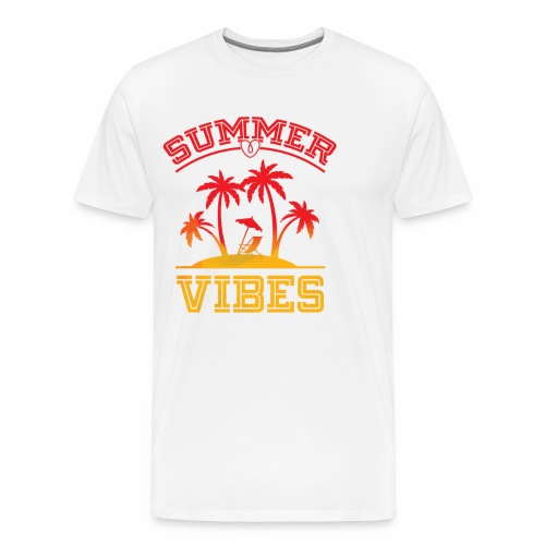 Summer Vibes - Men's Premium T-Shirt