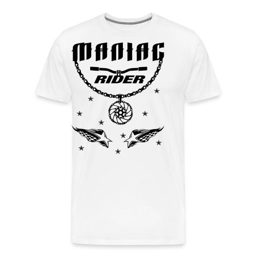 Maniac Rider Downhill Mountainbike bike-rider - Men's Premium T-Shirt