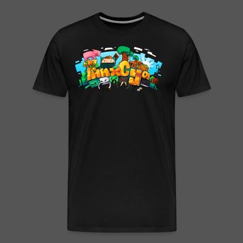 ThnxCya tshirt design 01 big by Jonas Nacef png - Men's Premium T-Shirt