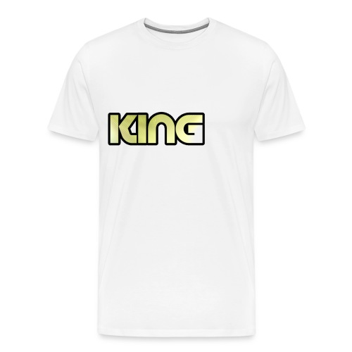 KING ***NEW DESIGN*** - Men's Premium T-Shirt