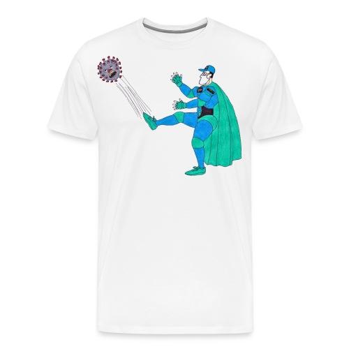 PYGOD Man vs COVID 19 - Men's Premium T-Shirt