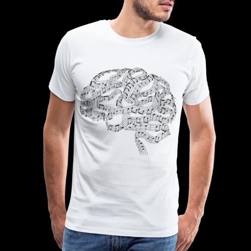Sound of Mind | Audiophile's Brain - Men's Premium T-Shirt