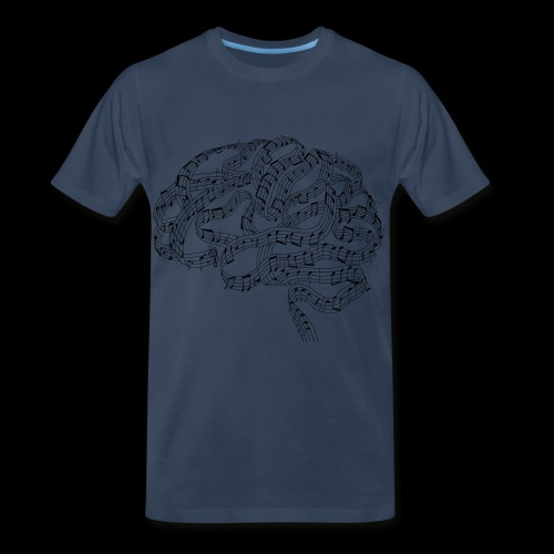 Sound of Mind | Audiophile's Brain - Men's Premium T-Shirt