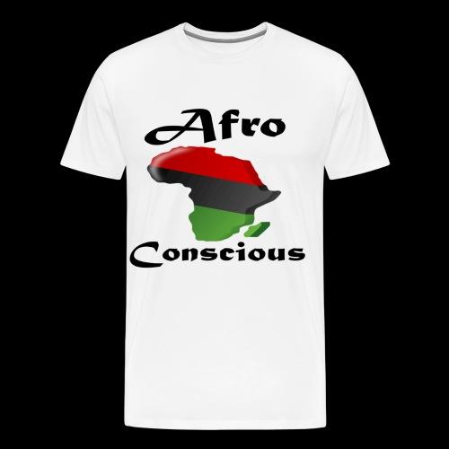 afro-conscious blk - Men's Premium T-Shirt