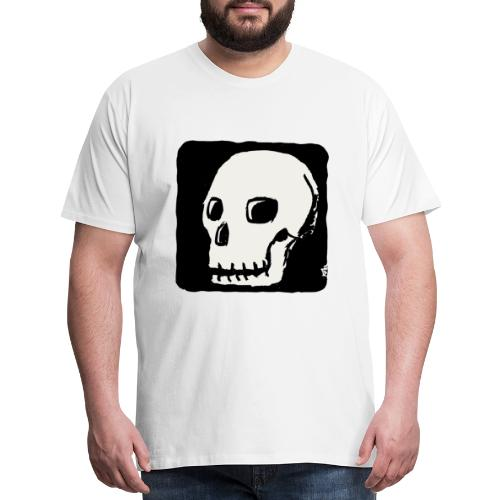 Smiling skull - Men's Premium T-Shirt