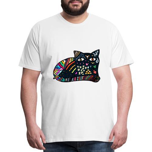 Dreamlike Cat - Men's Premium T-Shirt