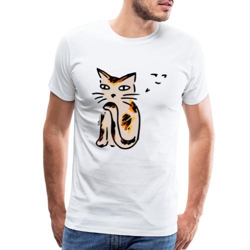 Sneaky Cat - Men's Premium T-Shirt