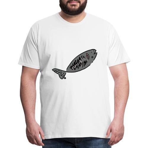 Grilled Fish - Men's Premium T-Shirt