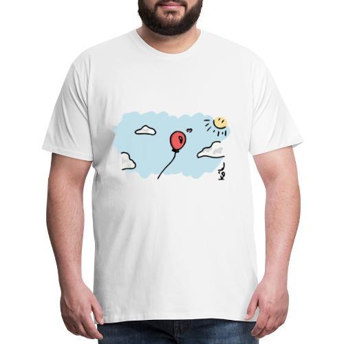 Balloon in Love - Men's Premium T-Shirt
