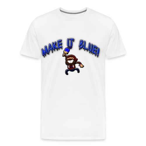 modii101 make it blue - Men's Premium T-Shirt
