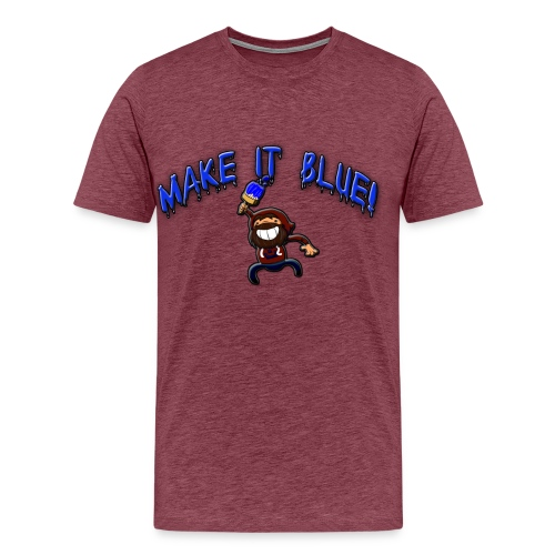 modii101 make it blue - Men's Premium T-Shirt
