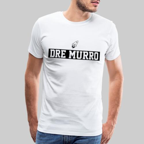 Dre Murro (Official Logo - Black) - Men's Premium T-Shirt