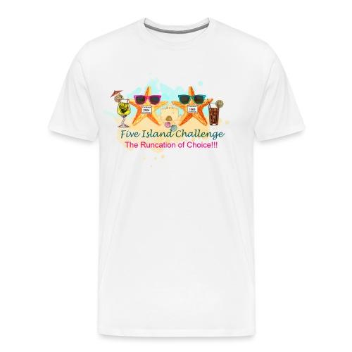 Five Island Challenge - Men's Premium T-Shirt