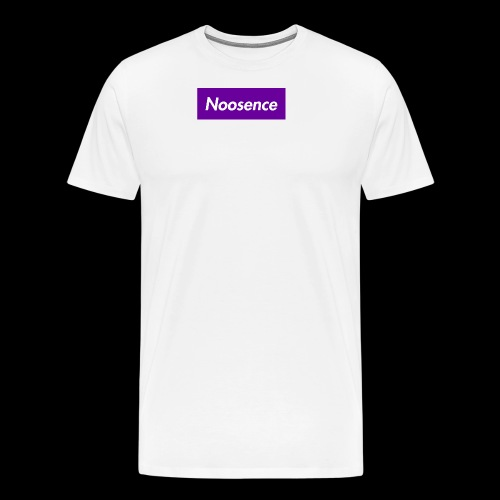 Noosence Logo purple - Men's Premium T-Shirt
