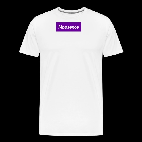 Noosence Logo purple - Men's Premium T-Shirt