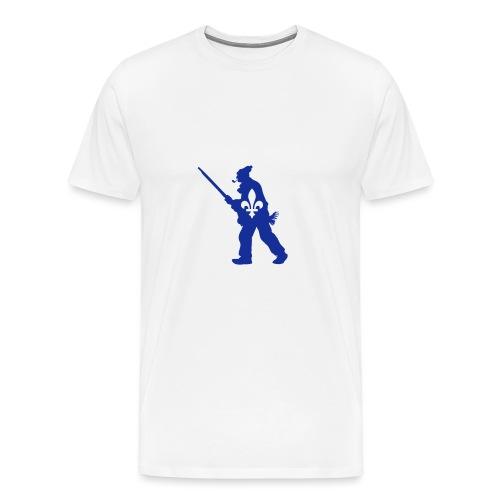 Patriote 1837 Québec - T-shirt premium pour hommes