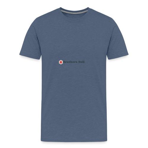 6 Brothers Deli - Men's Premium T-Shirt