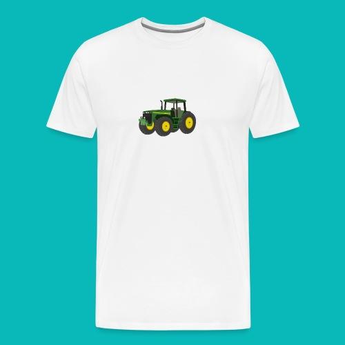 tractor clip art tractor5 png - Men's Premium T-Shirt