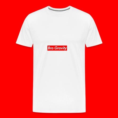 Bro gravity - Men's Premium T-Shirt