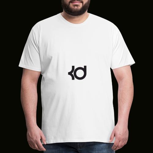 basket ball kevin #35 787658765875876667632 - Men's Premium T-Shirt