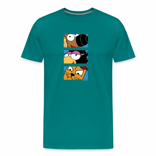 Rantdog Trio - Men's Premium T-Shirt