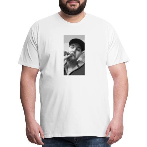 Turupxprime Hoots black n white merch line. - Men's Premium T-Shirt