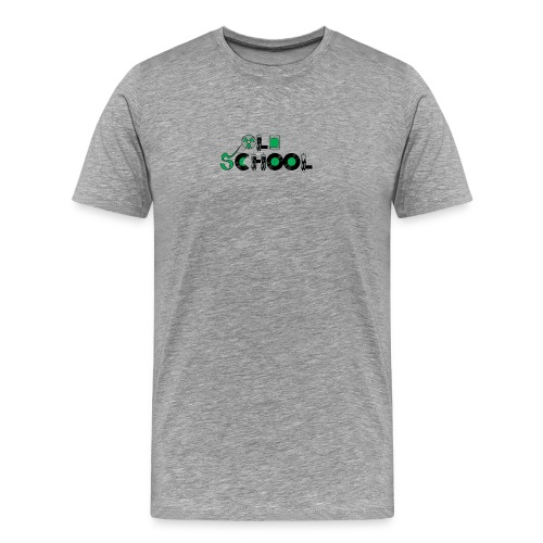 Old School Music - Men's Premium T-Shirt