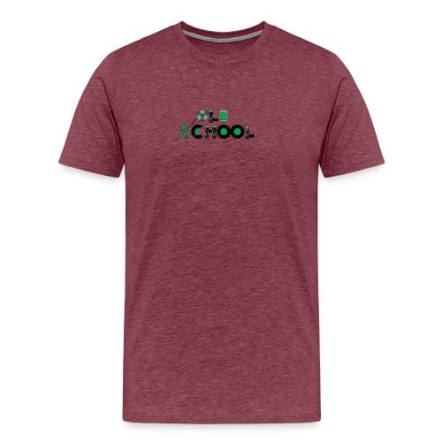 Old School Music - Men's Premium T-Shirt