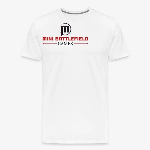 Mini Battlefield Games Logo - Men's Premium T-Shirt