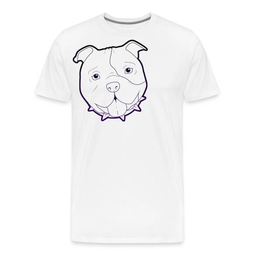 Pit Tee Outline alt. - Men's Premium T-Shirt