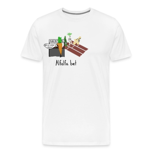 Alfalfa Bet - Men's Premium T-Shirt