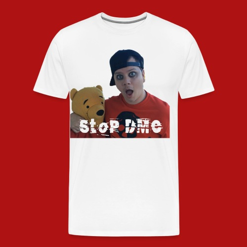 picture with pooh - Men's Premium T-Shirt