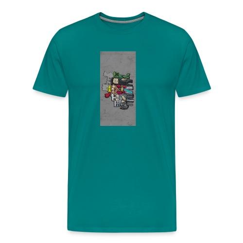 sparkleziphone5 - Men's Premium T-Shirt