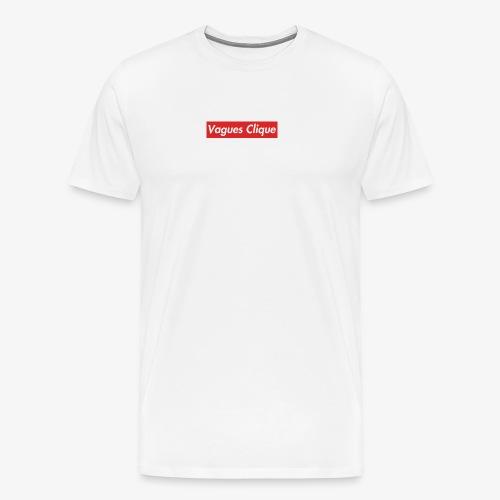 Vagues Clique Supreme Logo - Men's Premium T-Shirt