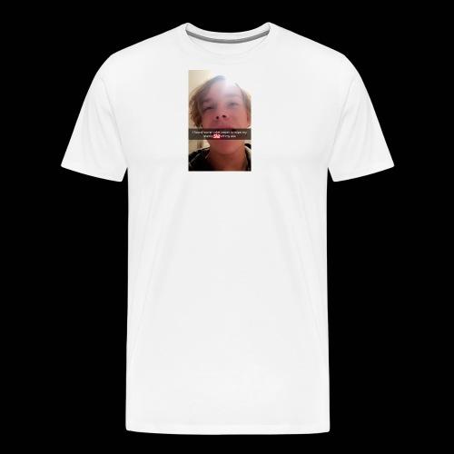 Reg taking a mad shit - Men's Premium T-Shirt