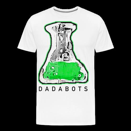 chemical beaker white - Men's Premium T-Shirt