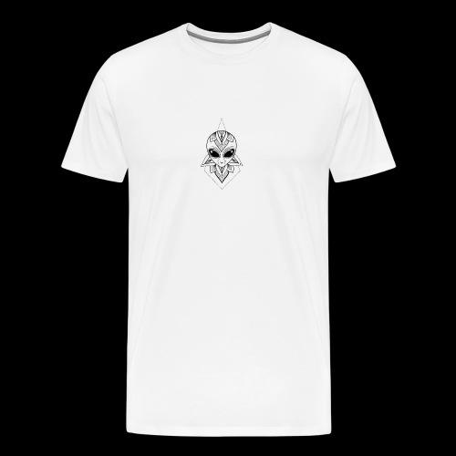 cool alien - Men's Premium T-Shirt