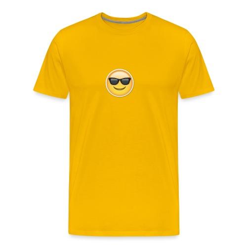 sunglasses emojicon mug & phone case - Men's Premium T-Shirt