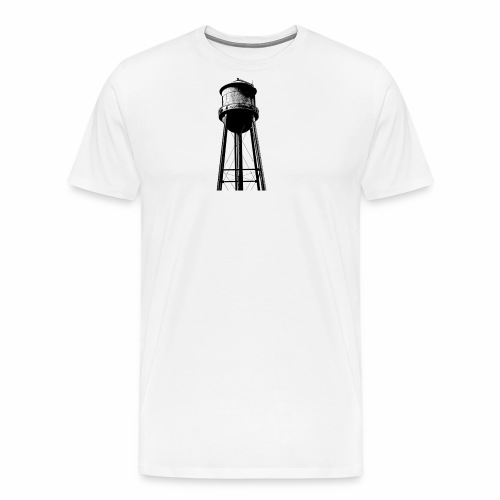 Water Tower - Men's Premium T-Shirt