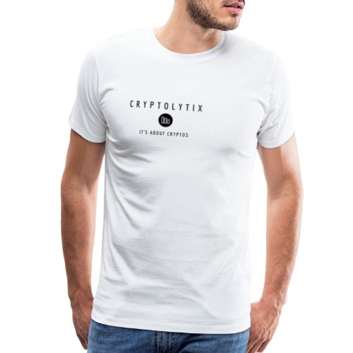 It's about CRYPTOs - Men's Premium T-Shirt